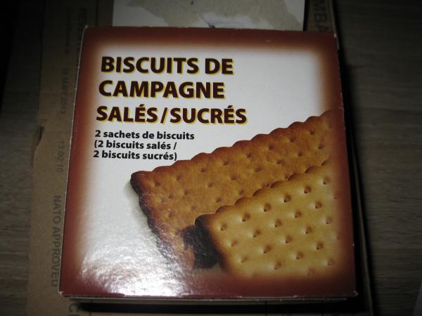 Verpackung der Kekse