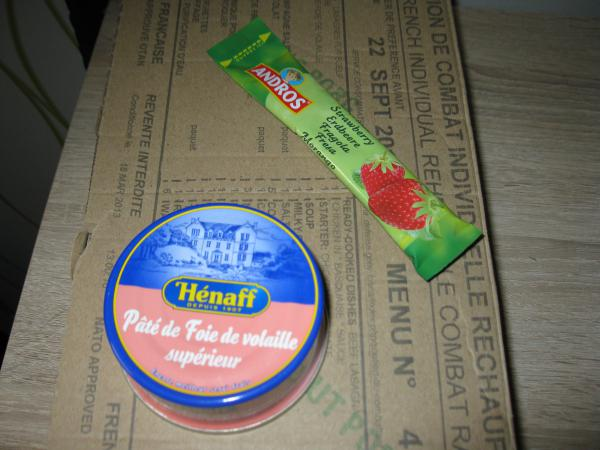 Pastete und Marmelade