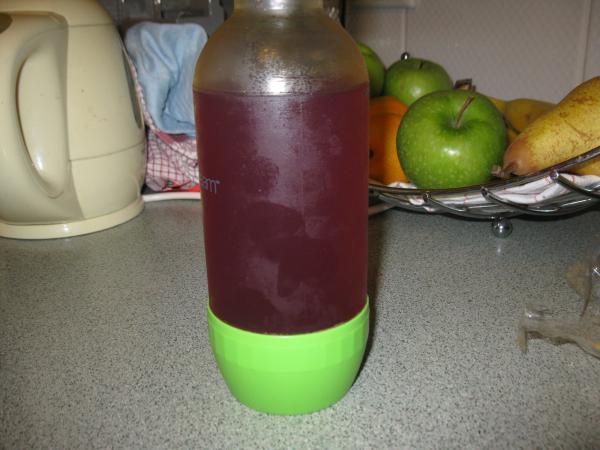 Getränkepulver zubereitet
