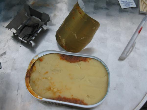 Lasagne komplett ausgepackt