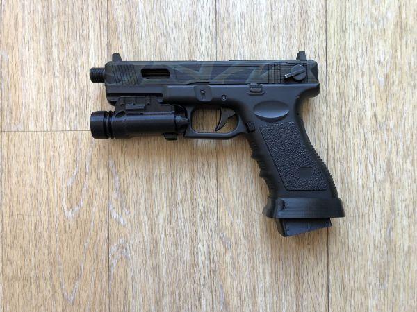V/T) Custom Glock G18c AEP | Airsoft-Verzeichnis